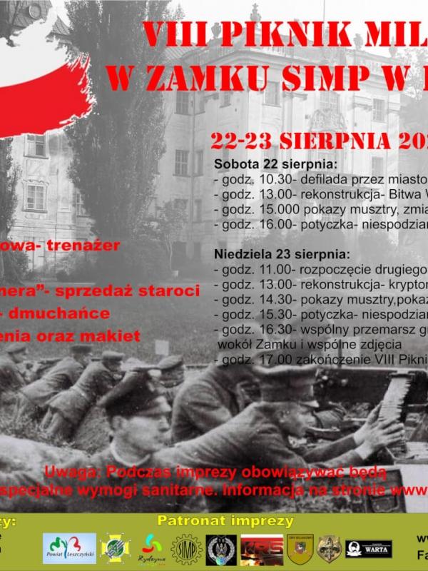 Piknik_Militarny-_Zamek_w_Rydzynie